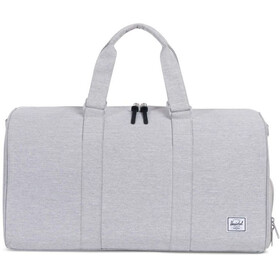Herschel Novel Mid-Volume Duffle Light Grey Crosshatch